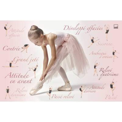 Asztali alátét, balerina
