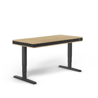 moll T7 XL exclusive íróasztal-tölgy-fekete